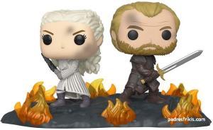 FunkoPop Daenerys y Jorah