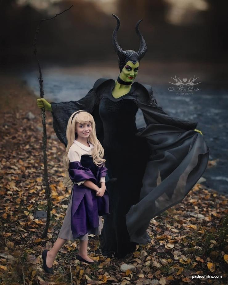 disfraz madre e hija
