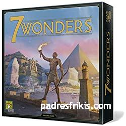 juegos de mesa de estrategia 7 WONDERS