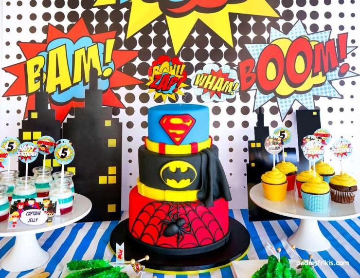 fiesta tematica superheroes