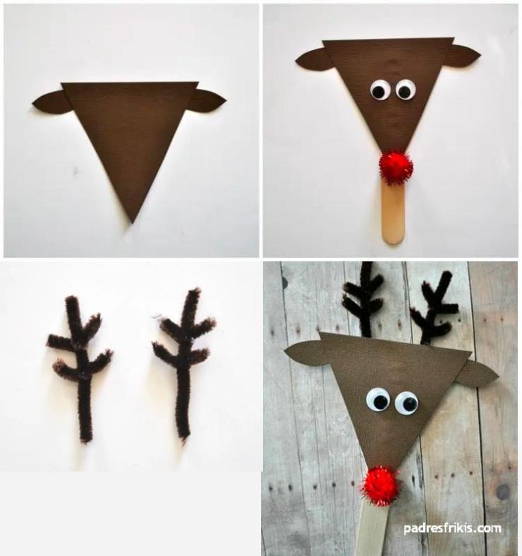 manualidad de Navidad para niños