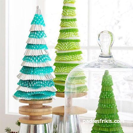 Manualidades navideñas árbol de navidad
