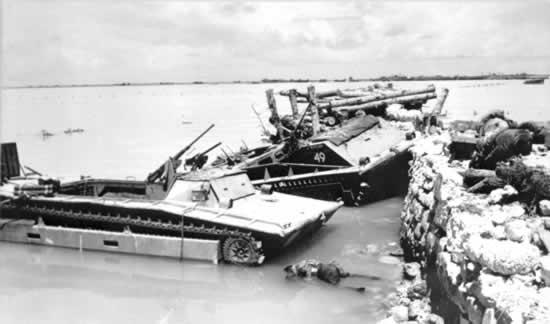 tarawa wreckage