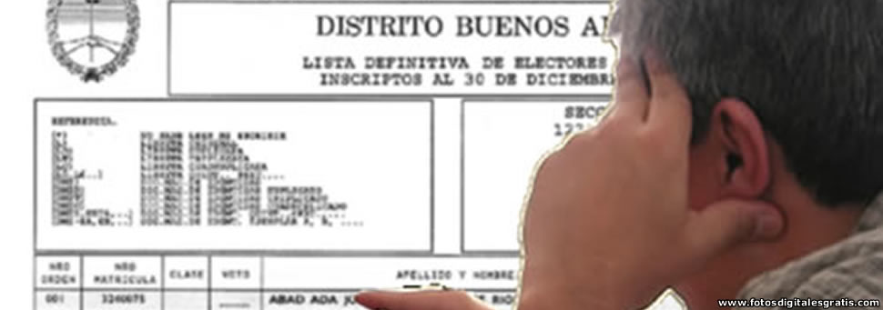 Elecciones Generales 2015: Ya se puede consultar padrón online