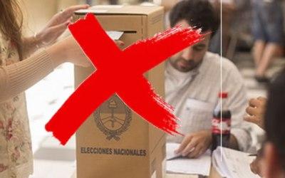 No votaste en las PASO ? Justificá tu ausencia