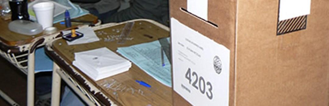 PASO el Mendoza : Consultar el padrón electoral