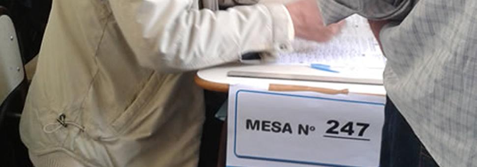 Abierta la inscripción para postulantes a autoridades de mesa 2021