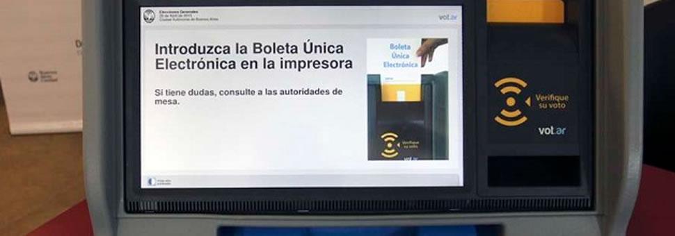 ¿Qué diferencias hay entre el voto electrónico de Buenos Aires y el de Salta?