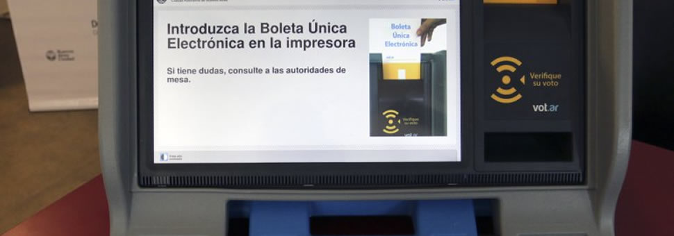 Voto en Capital Federal : Simulacro Boleta Unica para Voto Electrónico