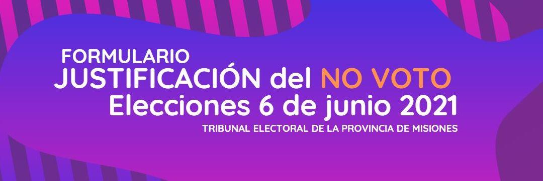 Misiones : Cómo es el trámite para evitar la multa por no voto
