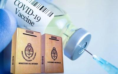 Confirman vacunación para autoridades de mesa 2021