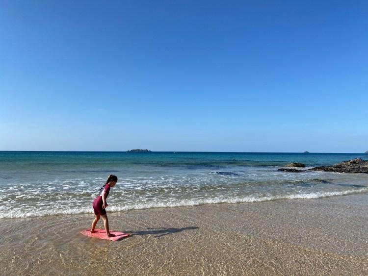 Family-Beach-Holiday-Cornwall-Padstow Cornwall-Caravan-Hire