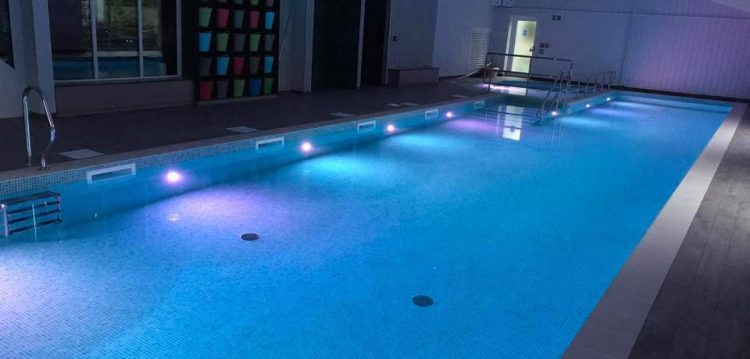 Coast swimming pool