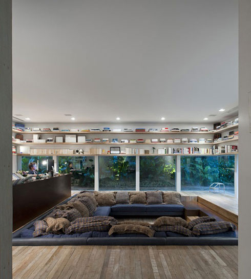 show pictures of modern living rooms wooden corner units room conversation pits – padstyle | interior design blog ...