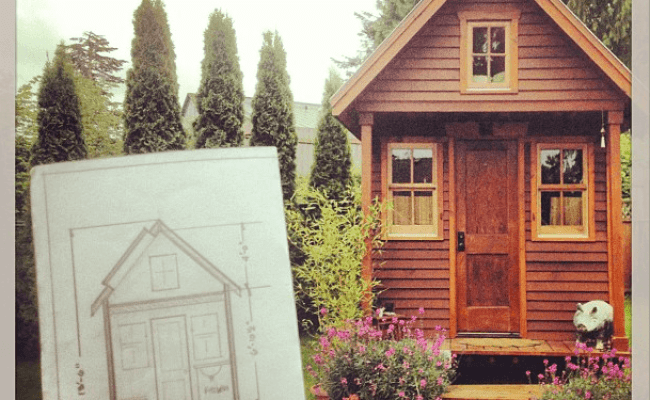 Dee Williams Tiny House Sketch