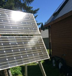 how to power your tiny house with solar power [ 1000 x 912 Pixel ]