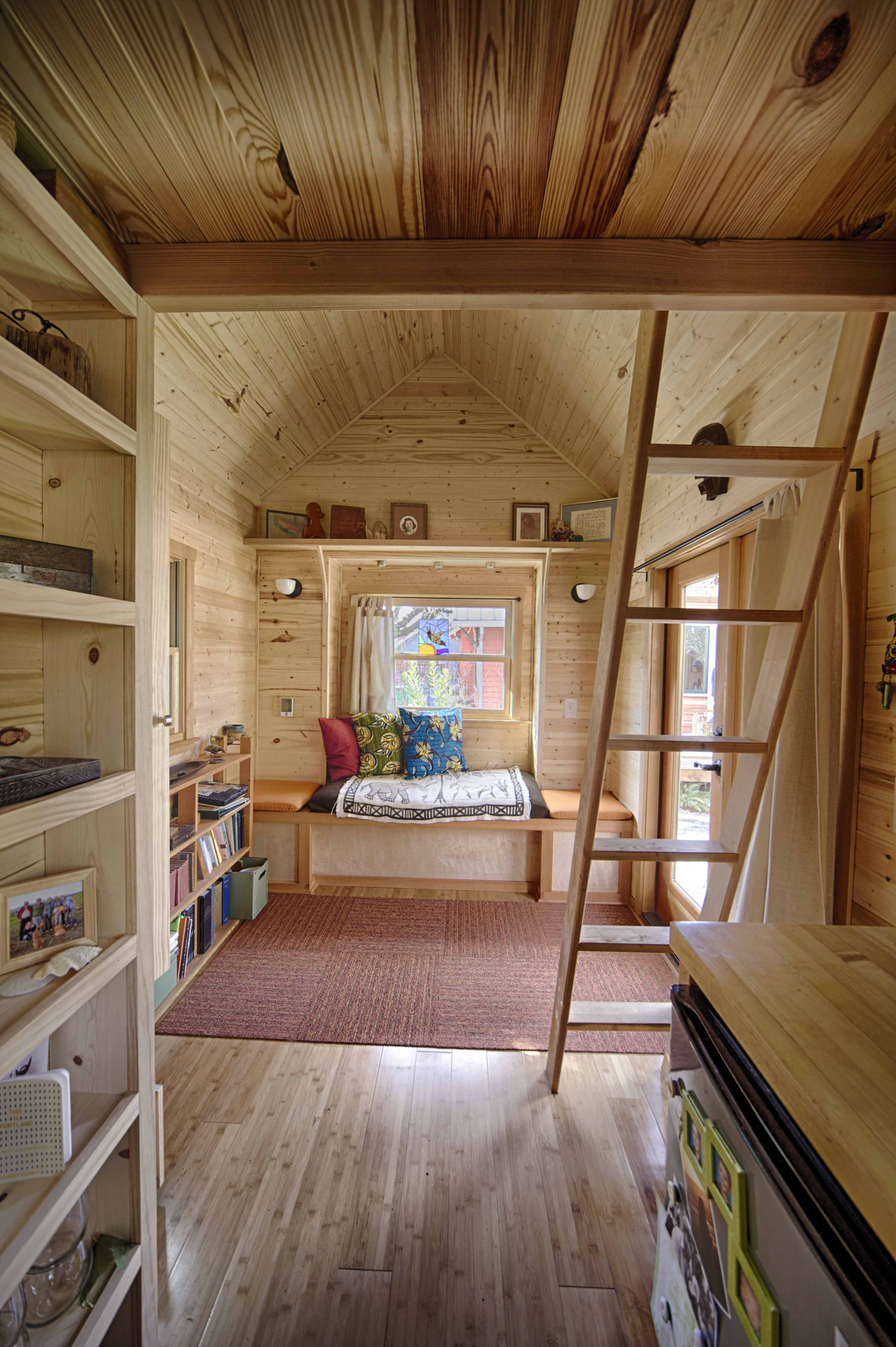 The Sweet Pea Tiny House Plans  PADtinyhousescom