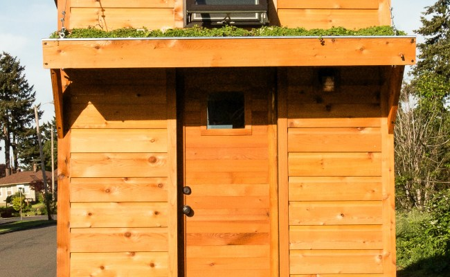 An Affordable Tiny House Design To Take Off The Grid Or