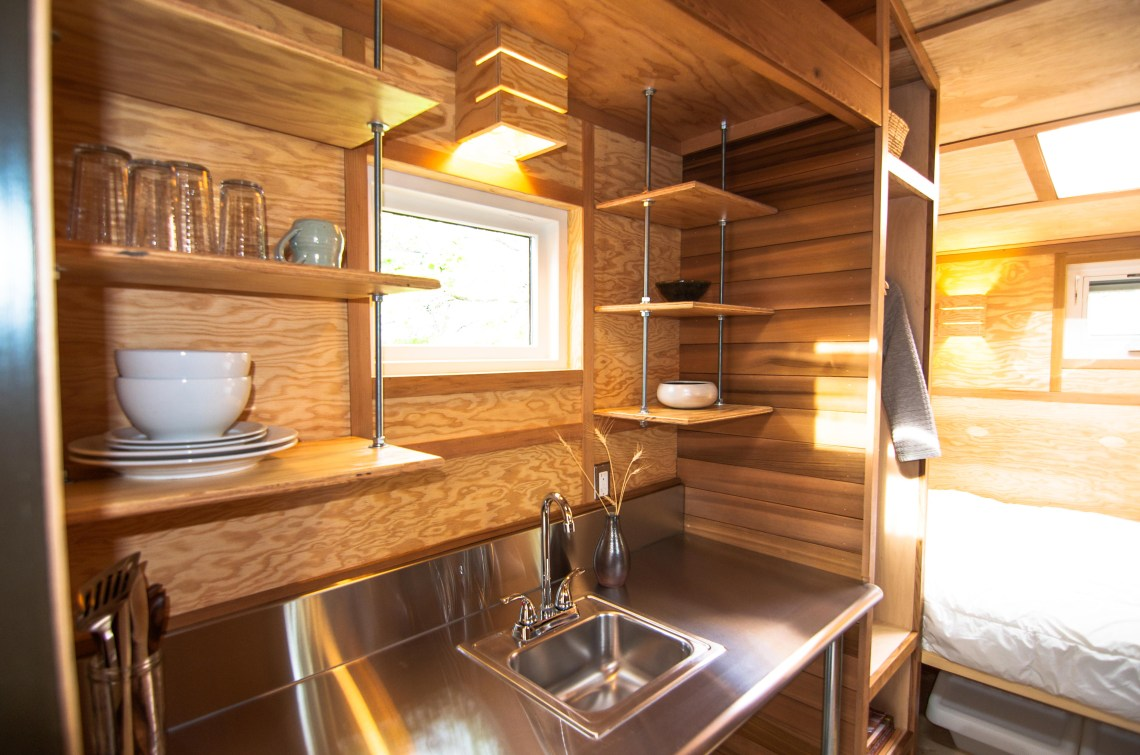 Salsa Box Tiny House Kitchen And Bed