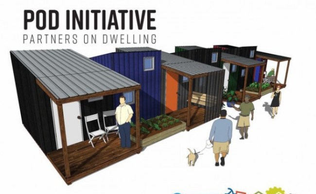 See Portland S New Tiny House Designs For The Homeless