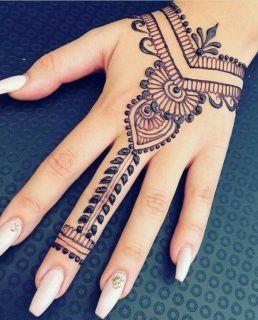 225 Gambar Motif Henna Tangan Sampai Kaki Mudah Dan Simpel