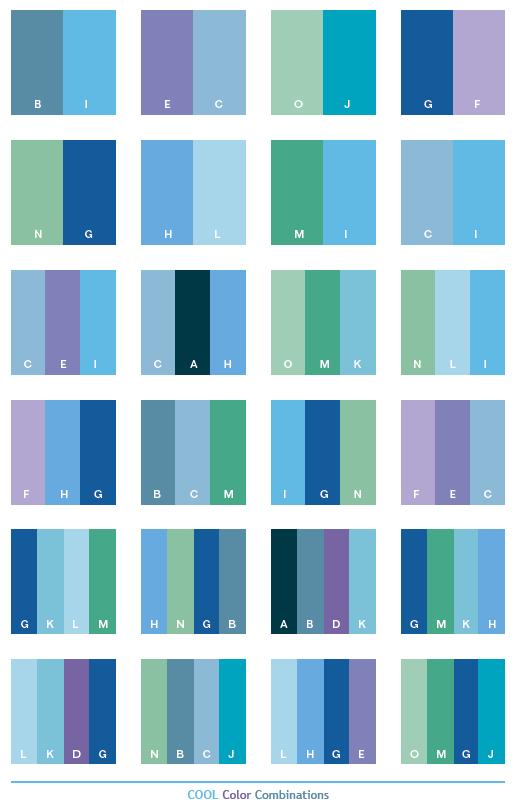 Macam Warna Biru : macam, warna, Macam, Warna, Gambar,, Arti,, Kombinasikan