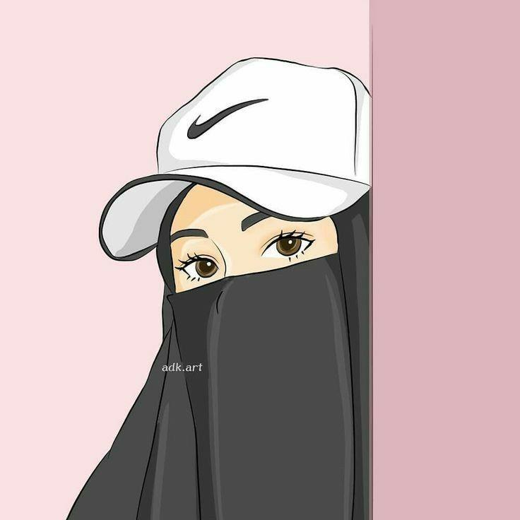 215 Gambar Kartun Muslimah Cantik Lucu Dan Bercadar Hd
