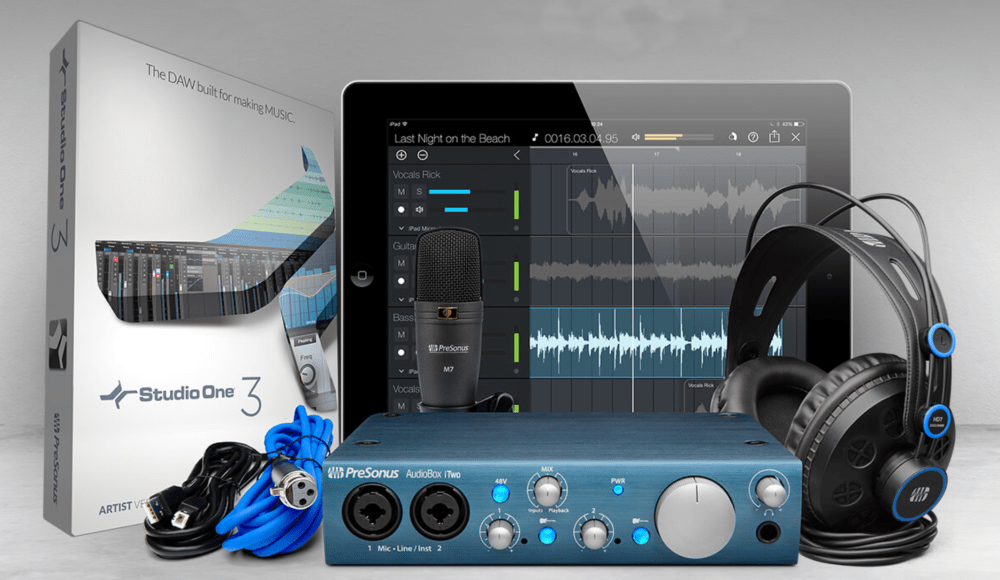 medium resolution of setting up a recording studio in your home has never been easier and more affordable presonus offers everything you need to record mix produce