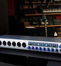 great sounding versatile expandable interface for project studios [ 2000 x 844 Pixel ]