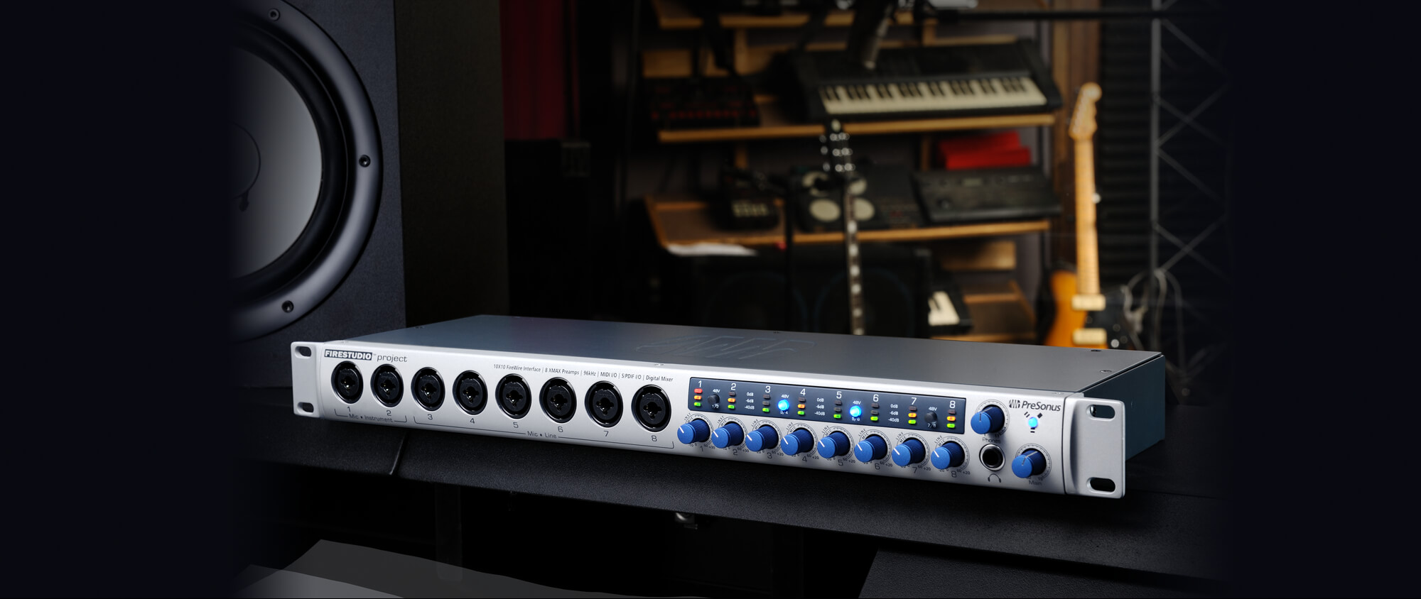 hight resolution of great sounding versatile expandable interface for project studios