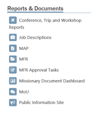 The CQWP URL list displayed on a page.