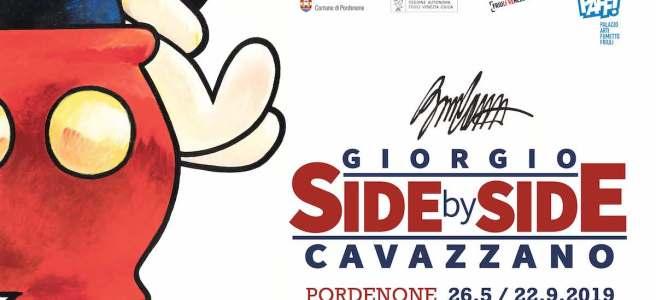 Giorgio Cavazzano Mostra Side by Side Pordenone