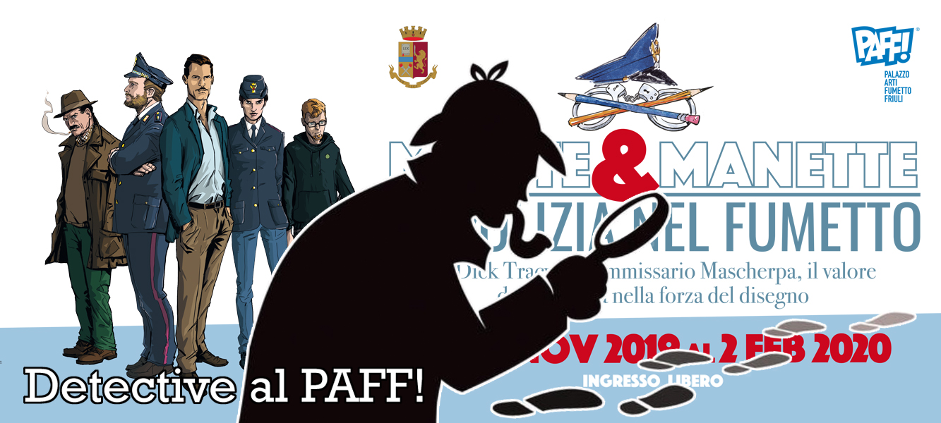 Detective al PAFF! - Matite e Manette