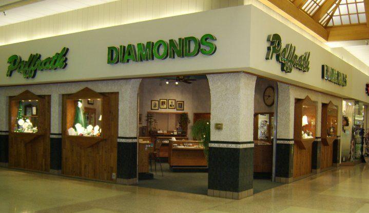 Paffrath Jewelers store front in Kandi Mall, Willmar MN