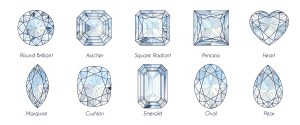 popular cuts of diamonds