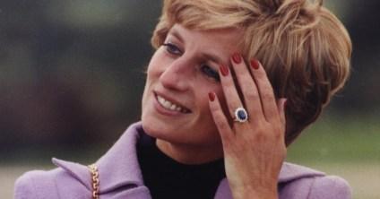 September birthstone, Sapphire Princess Diana engagement ring.