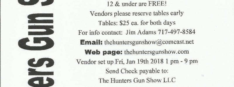 Hunter's Littlestown Gun Show