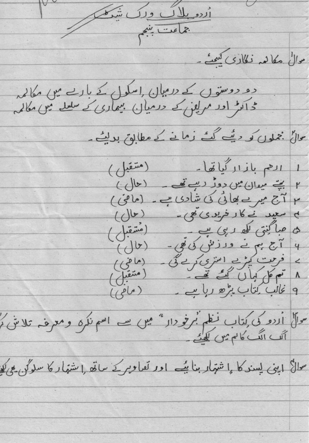 medium resolution of Lawaonline Blog Urdu Essays For Grade
