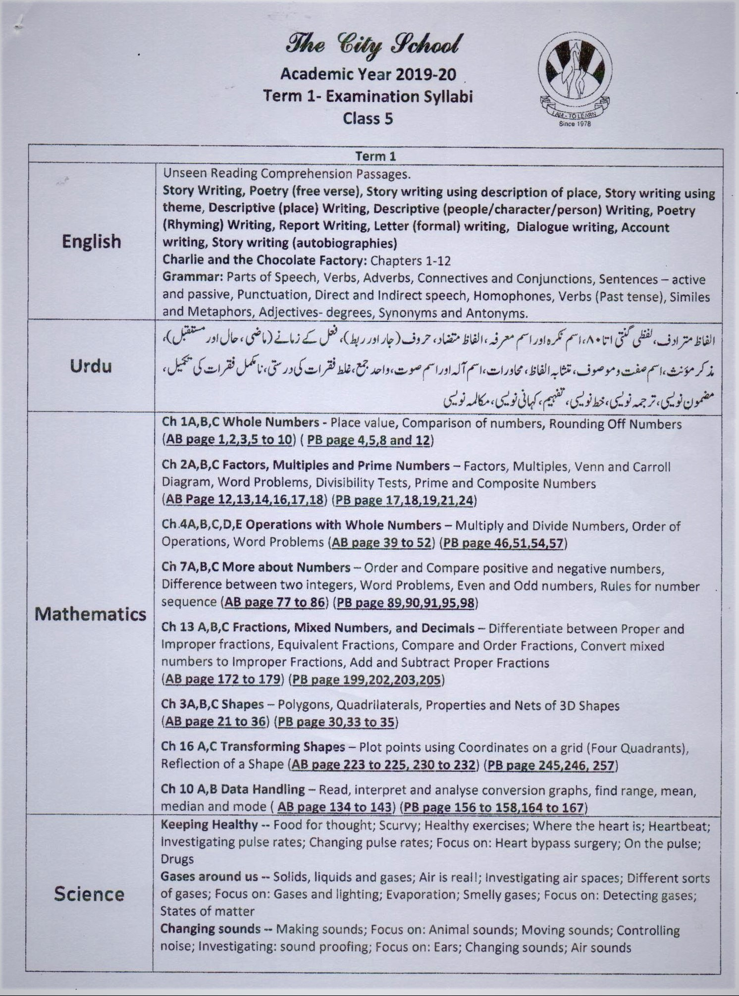hight resolution of PAF JUNIORS – I AM – TO LEARN