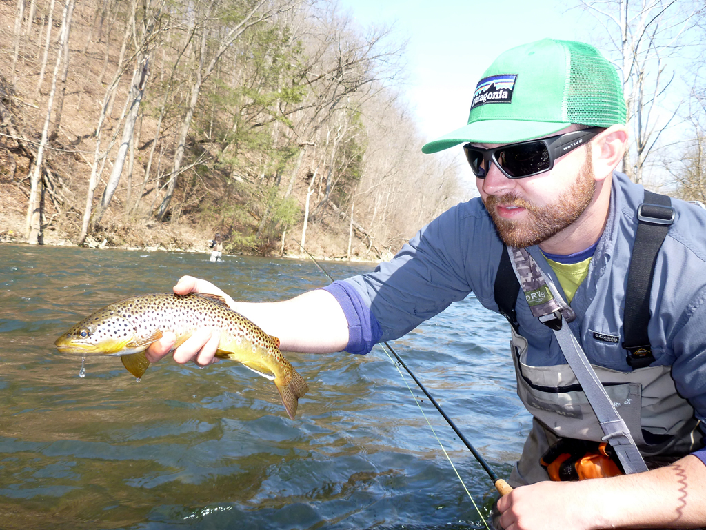 Good times on the little juniata river pa fly guide for Pa fly fishing