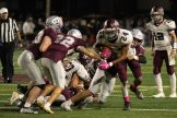 Shippensburg RB Amari Kerr carries for the Greyhounds.