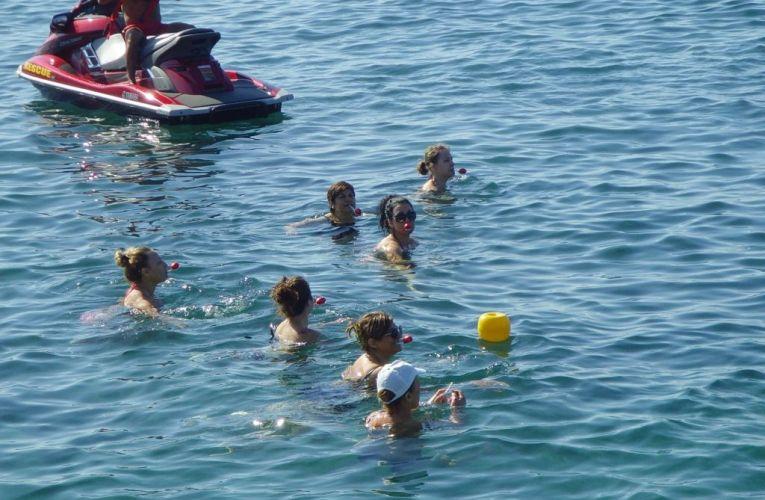 Αυγουλοδρομίες μέσα στο νερό
