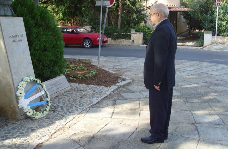 Τίμησαν την μνήμη του Δρ. Ιχσάν Αλί
