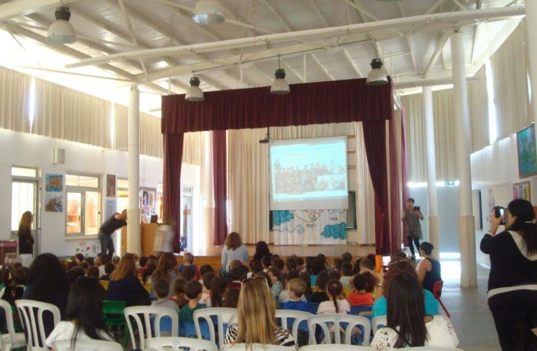 Εκπαιδευτικοί από τη Χίο επισκέφτηκαν σήμερα το Η' Νηπιαγωγείο στο Αναβαργός