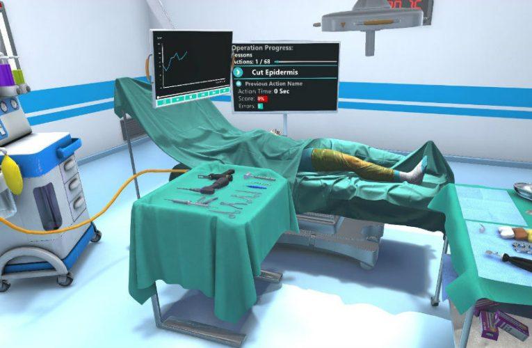 Χρήση εξομοιωτή για εκπαίδευση σε εικονικά χειρουργεία