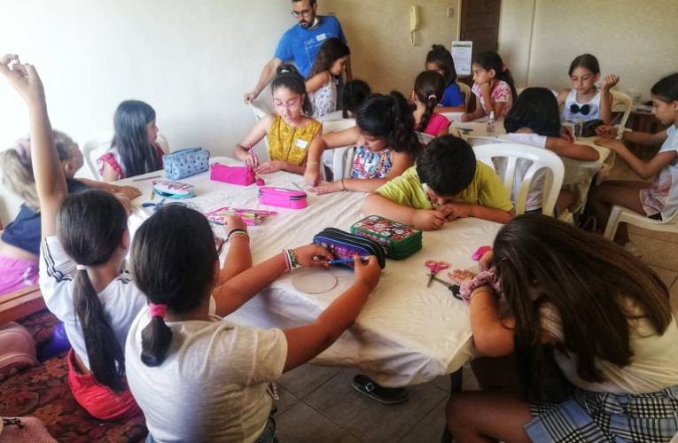 «ΣΕ ΜΙΑ ΑΛΛΗ ΓΗ»  από παιδιά και νέους της Ομάδας ANTAMOSIS