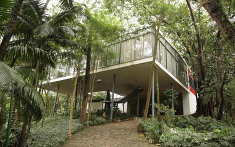 Jardim da Casa de Vidro | Instituto Lina Bo e P.M. Bardi, São Paulo, Brasil/Guilherme Tosetto/G1