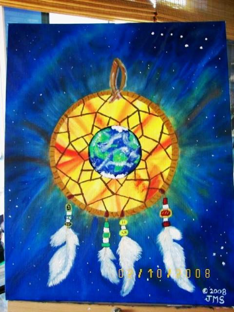 Painting-Universal-Dreamcatcher