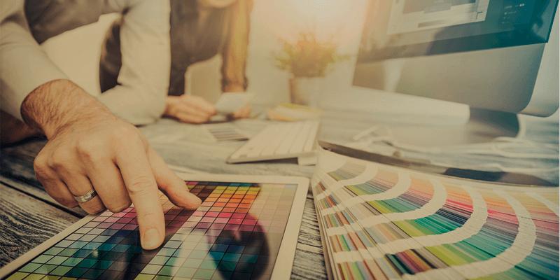 Saiba como as cores influenciam nas vendas online