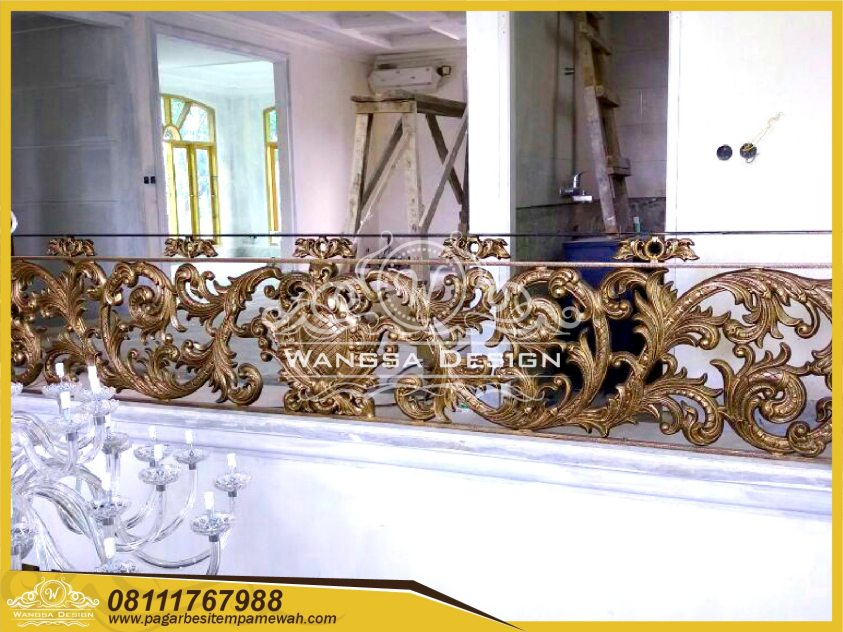 Model Railing Balkon Besi Tempa